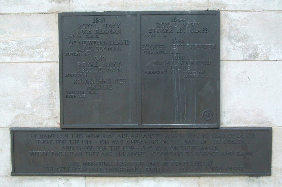 memorials and monuments in portsmouth hampshire uk panels on the rh memorialsinportsmouth co uk